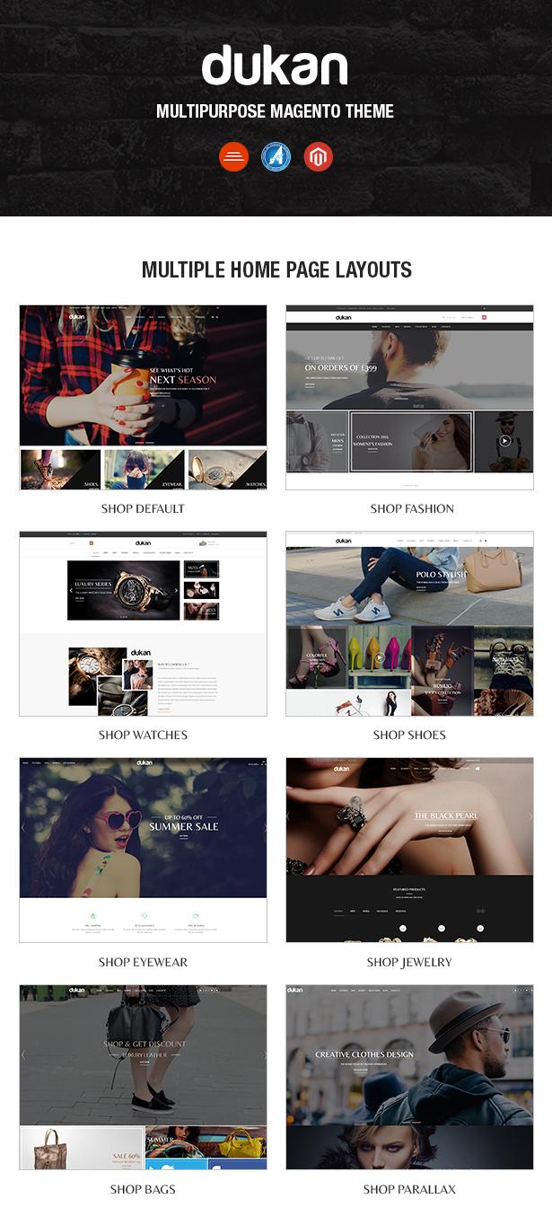 04 homepages - Dukan - Multipurpose Magento Theme