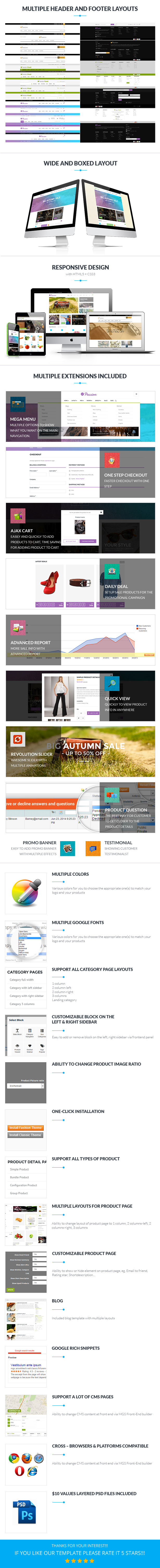 Passion – Multipurpose Magento Theme